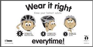 Helmet salute