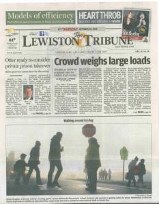 Capture - Lewiston Tribune
