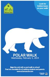 Capture - poster for Polar Walk 2014