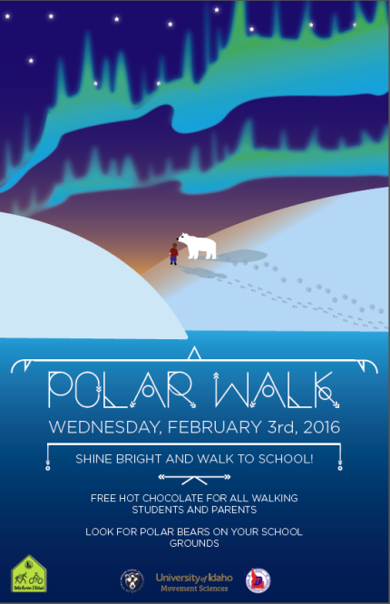 Capture of Poster - Polar Walk 2016